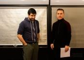 Director Lee Foster and Actor Elvis Stojko!