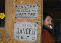 Director Lee Foster and set hazards...