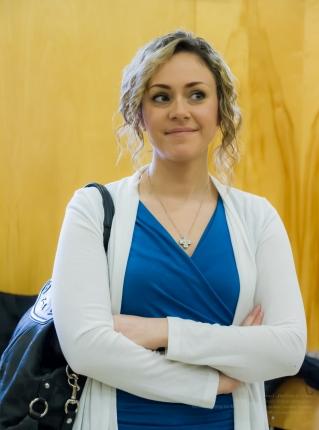 Actress and super trouper Sarah McIntyre!