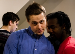 Actors Liam Murphy and Kenneth Bemister!