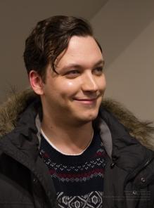 Actor Damien Doepping, Karl Lange.